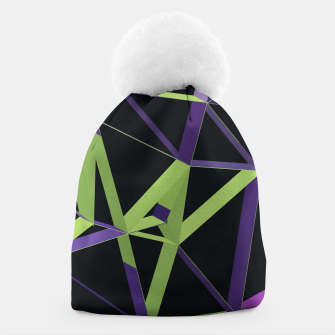 Thumbnail image of 3D Futuristic GEO Lines XXIV Beanie, Live Heroes