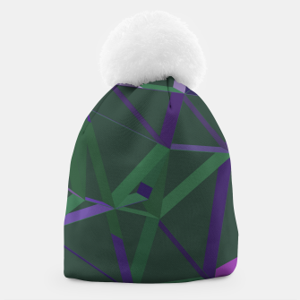Thumbnail image of 3D Futuristic GEO Lines XXVI Beanie, Live Heroes