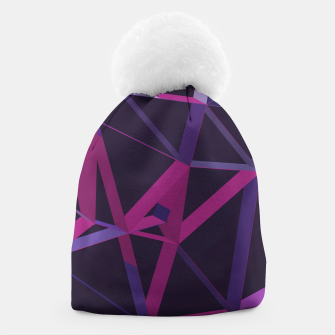 Thumbnail image of 3D Futuristic GEO Lines XXV Beanie, Live Heroes