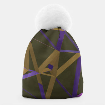 Thumbnail image of 3D Futuristic GEO Lines XXVII Beanie, Live Heroes