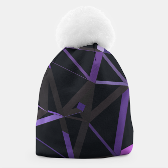 Thumbnail image of 3D Futuristic GEO Lines XXIX Beanie, Live Heroes