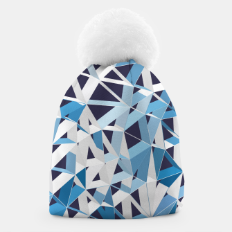 Thumbnail image of 3D Futuristic GEO Lines XXX Beanie, Live Heroes