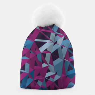 Thumbnail image of 3D Futuristic GEO Lines XXXII Beanie, Live Heroes