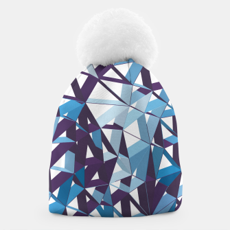 Thumbnail image of 3D Futuristic GEO Lines XXXIII Beanie, Live Heroes