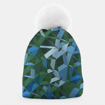 Thumbnail image of 3D Futuristic GEO Lines XXXIV Beanie, Live Heroes