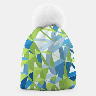 Thumbnail image of 3D Futuristic GEO Lines XXXI Beanie, Live Heroes