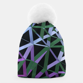 Thumbnail image of 3D Futuristic GEO Lines XVI Beanie, Live Heroes