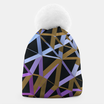 Thumbnail image of 3D Futuristic GEO Lines XVII Beanie, Live Heroes