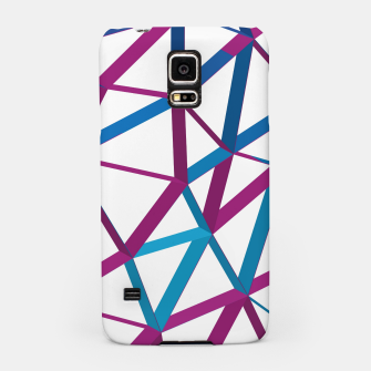 Thumbnail image of 3D Futuristic GEO Lines XX Samsung Case, Live Heroes