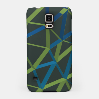 Thumbnail image of 3D Futuristic GEO Lines XIX Samsung Case, Live Heroes