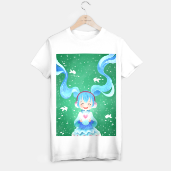 Imagen en miniatura de smile and Hearts T-shirt regular, Live Heroes