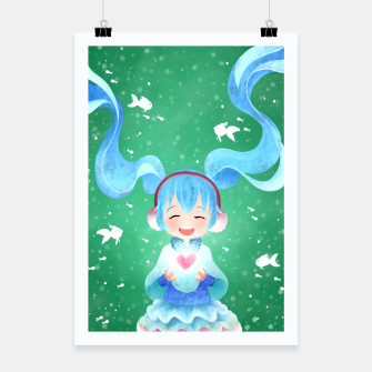 Miniaturka smile and Hearts Poster, Live Heroes