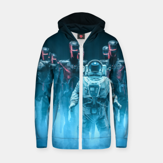 Thumbnail image of Caught in the Act Cotton zip up hoodie, Live Heroes