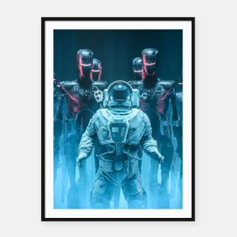 Thumbnail image of Caught in the Act Framed poster, Live Heroes