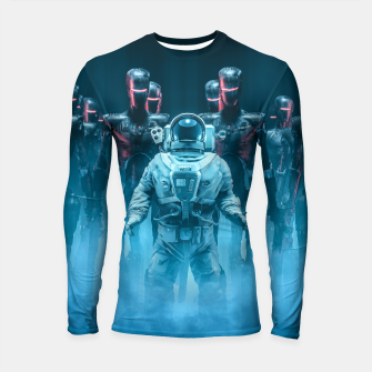 Thumbnail image of Caught in the Act Longsleeve rashguard , Live Heroes