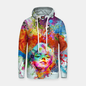 Thumbnail image of Collage LXXIX Cotton hoodie, Live Heroes