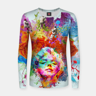 Miniaturka Collage LXXIX Woman cotton sweater, Live Heroes