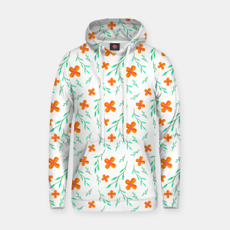Thumbnail image of Flower Pattern Cotton hoodie, Live Heroes