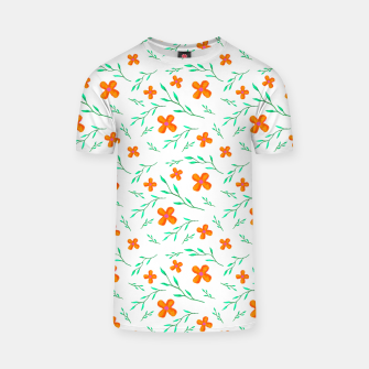 Thumbnail image of Flower Pattern T-shirt, Live Heroes