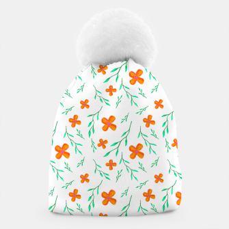 Thumbnail image of Flower Pattern Beanie, Live Heroes