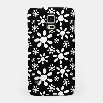Thumbnail image of White Flowers on Black Samsung Case, Live Heroes