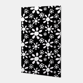 Thumbnail image of White Flowers on Black Canvas, Live Heroes