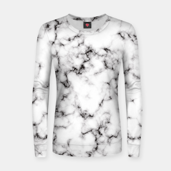 Thumbnail image of Marble Woman cotton sweater, Live Heroes