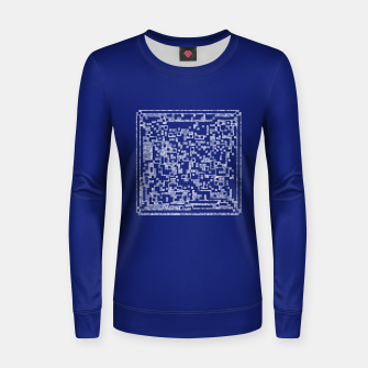 Thumbnail image of Life of a Turmite Woman cotton sweater, Live Heroes