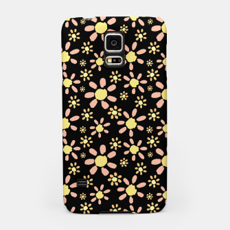 Thumbnail image of Flowers on Black Samsung Case, Live Heroes