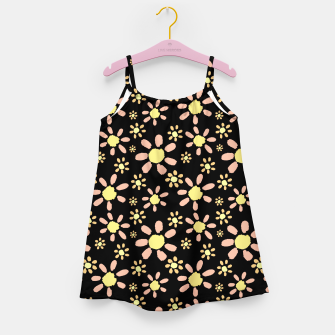 Thumbnail image of Flowers on Black Girl's dress, Live Heroes