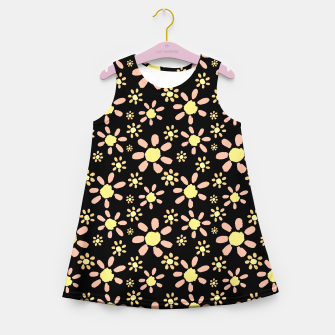 Thumbnail image of Flowers on Black Girl's summer dress, Live Heroes