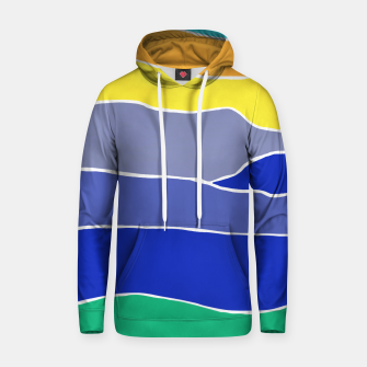 Thumbnail image of Landscape Stripes Cotton hoodie, Live Heroes