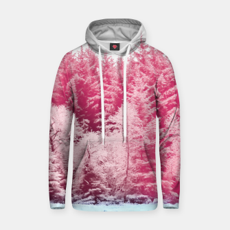 Thumbnail image of Candy pine trees Cotton hoodie, Live Heroes