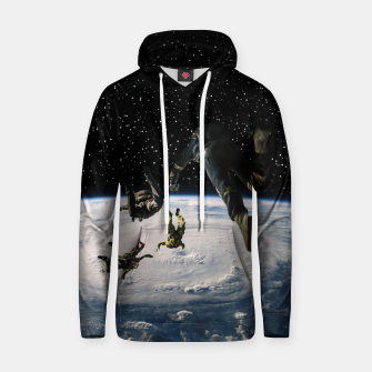 Thumbnail image of Forget oxygen Cotton hoodie, Live Heroes