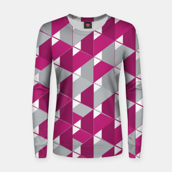 Thumbnail image of 3D Lovely GEO  Woman cotton sweater, Live Heroes