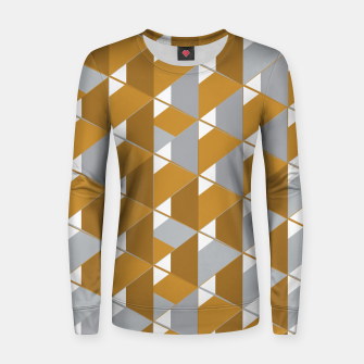 Thumbnail image of 3D Lovely GEO III Woman cotton sweater, Live Heroes