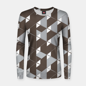 Thumbnail image of 3D Lovely GEO VII Woman cotton sweater, Live Heroes