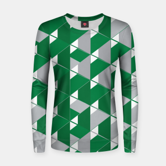 Thumbnail image of 3D Lovely GEO VI Woman cotton sweater, Live Heroes