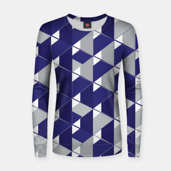 Thumbnail image of 3D Lovely GEO II Woman cotton sweater, Live Heroes