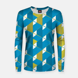 Thumbnail image of 3D Lovely GEO VIII Woman cotton sweater, Live Heroes