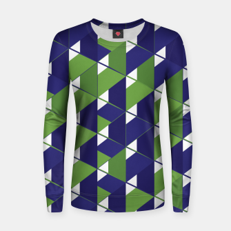 Thumbnail image of 3D Lovely GEO XI Woman cotton sweater, Live Heroes