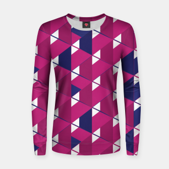 Thumbnail image of 3D Lovely GEO X Woman cotton sweater, Live Heroes