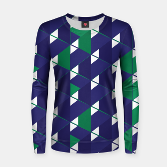Thumbnail image of 3D Lovely GEO XII Woman cotton sweater, Live Heroes