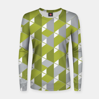 Thumbnail image of 3D Lovely GEO IV Woman cotton sweater, Live Heroes