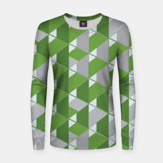 Thumbnail image of 3D Lovely GEO V Woman cotton sweater, Live Heroes