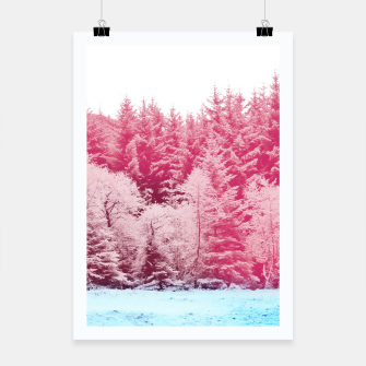 Miniaturka Candy pine trees Poster, Live Heroes