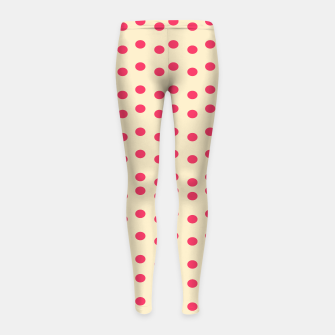 Imagen en miniatura de Girls leggings with Dots Pink, Live Heroes