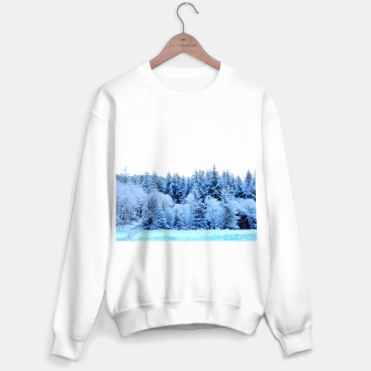 Miniatur Pastel pine trees Sweater regular, Live Heroes
