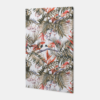 Miniaturka Exotic birds in the jungle paradise II Canvas, Live Heroes