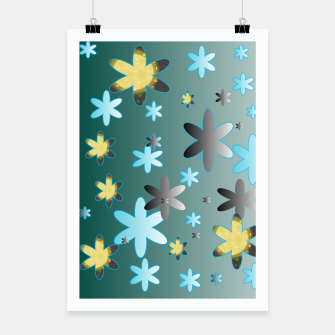 Thumbnail image of Star Pattern Poster, Live Heroes